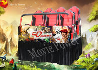 Real feelings 7D movie theater electric system profitable amusement rides